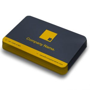 Business Cards Rounded Corners