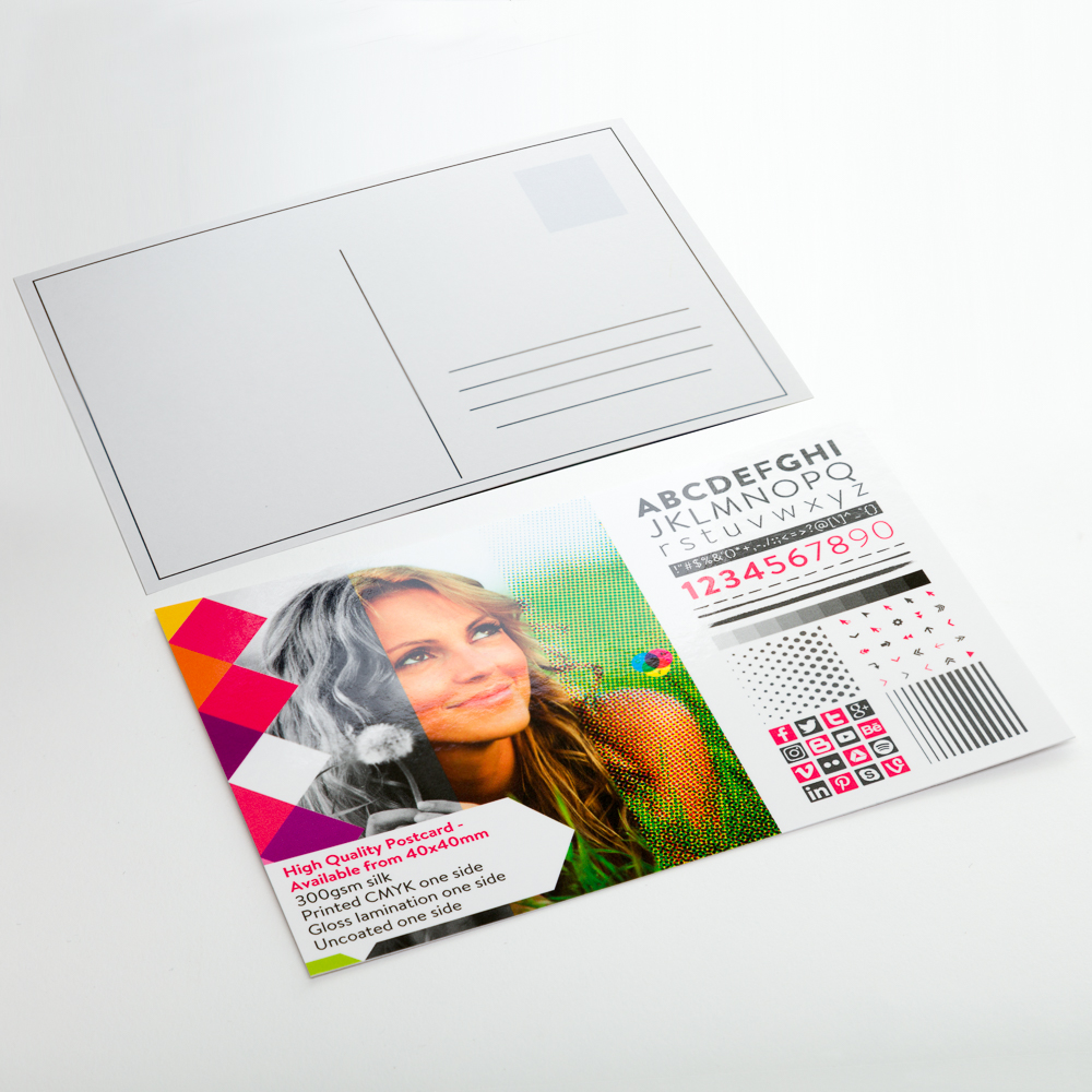 High Quality Postcards - Available from 40x40mm