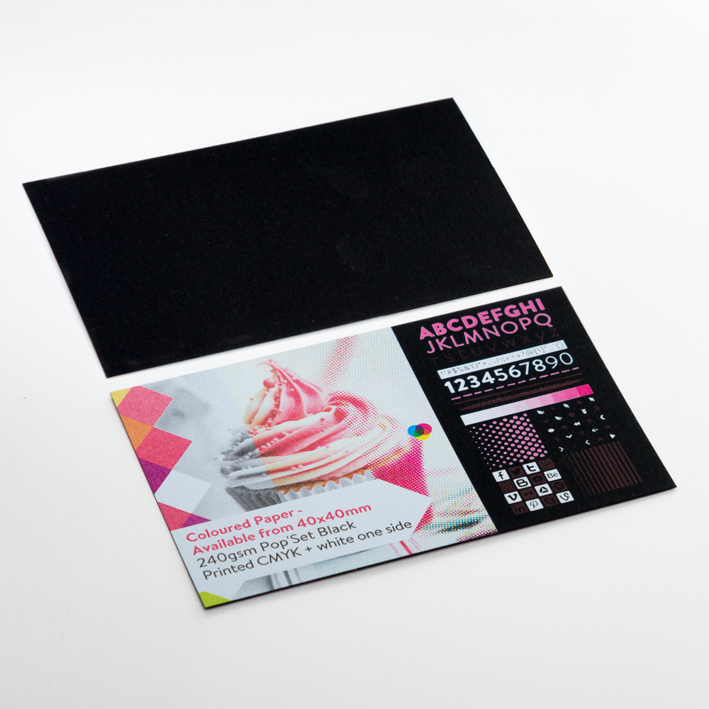 Coloured Paper - Available from 40x40mm