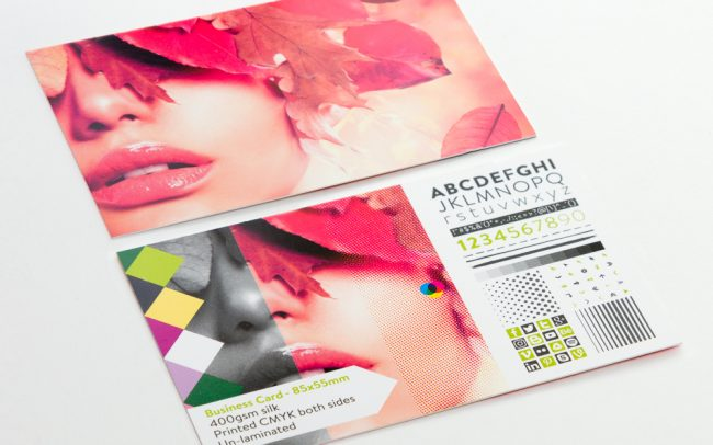 Business Card Un-laminated - 85x55mm