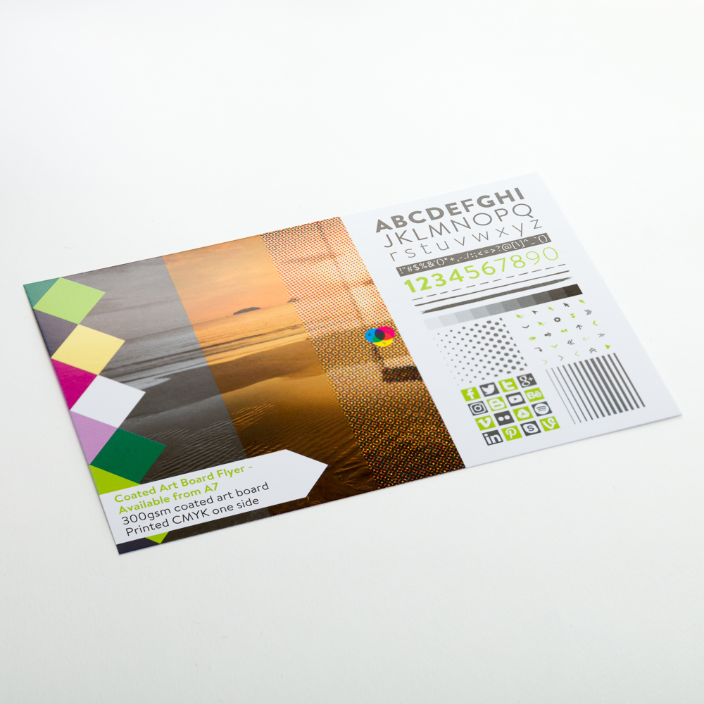 Coated Art Board Flyer - Available from A7