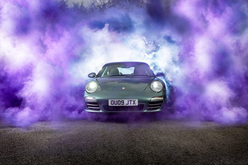 Porsche 997 Smokebomb