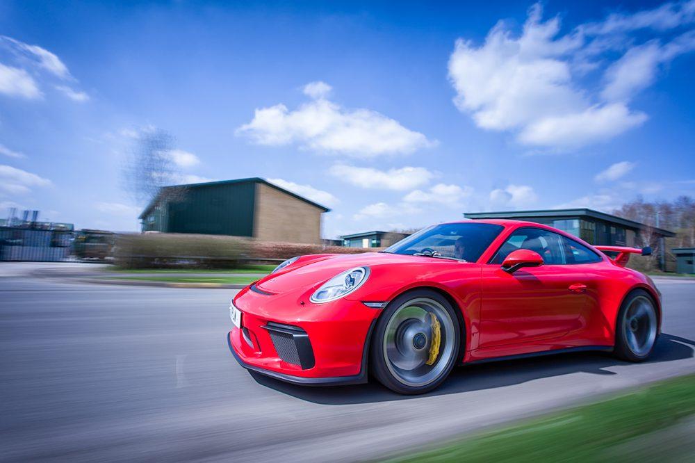 Porsche GT3 Moving